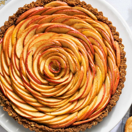 Apple Blossom Tart