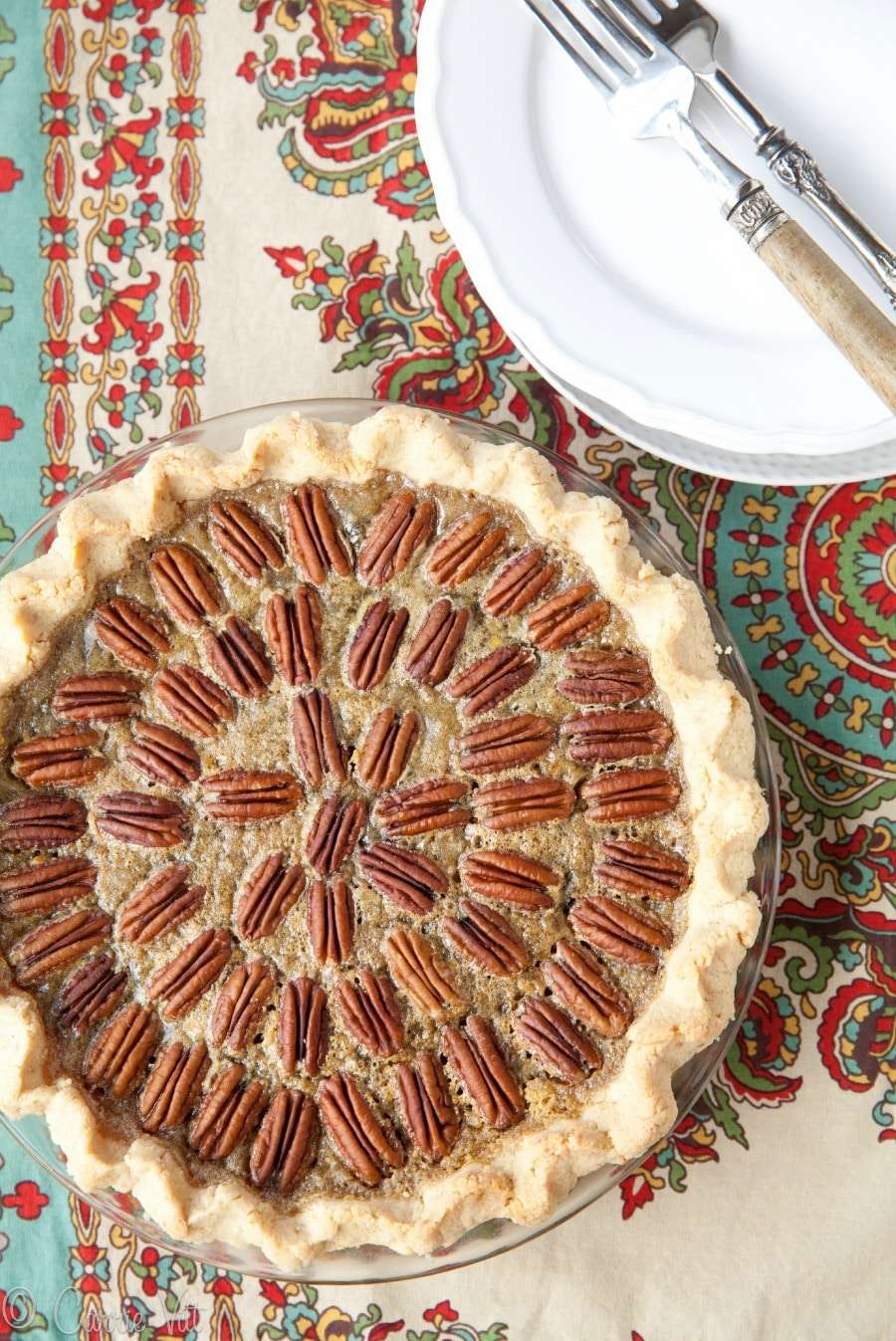 Grain-Free Pecan Pie without Corn Syrup (Paleo, Gluten Free)